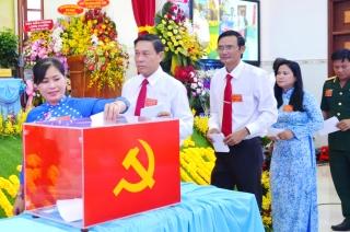Bầu 39 uỷ viên Ban chấp hành Đảng bộ huyện Bến Cầu khoá XII
