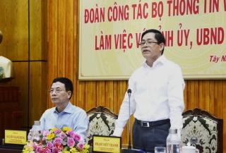 Tây Ninh nên đột phá về công nghệ số trong nhiệm kỳ tới