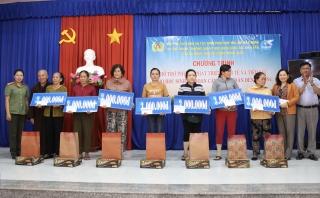 Hội Phụ nữ CA tỉnh hỗ trợ phụ nữ nghèo phát triển kinh tế