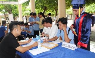 Tổ chức lễ tốt nghiệp và giới thiệu việc làm cho học viên, sinh viên