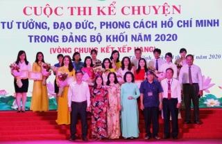 Tổ chức Vòng chung kết cuộc thi Kể chuyện về học tập và làm theo tư tưởng, đạo đức, phong cách Hồ Chí Minh