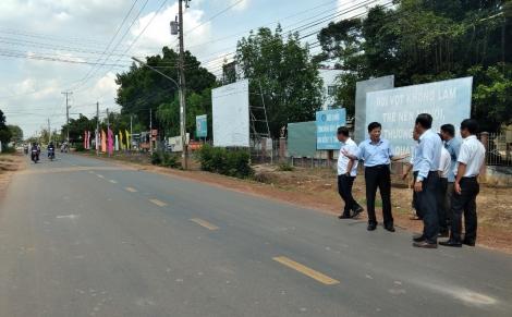Triển khai chủ trương xây dựng công trình đường 781