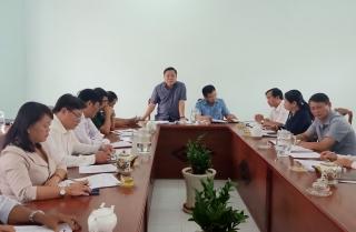 Giám sát việc lãnh đạo, chỉ đạo thực hiện các quyết định, quy định của Đảng tại huyện Gò Dầu