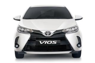 Toyota Vios 2021 ra mắt, lần đầu có đèn pha LED