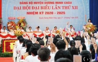 Đảng bộ Công an tỉnh và huyện Dương Minh Châu: Tổ chức phiên trù bị Đại hội đại biểu, nhiệm kỳ 2020–2025