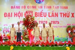 Khai mạc Đảng bộ Công an tỉnh lần thứ X, nhiệm kỳ 2020-2025