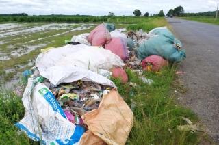 Sẽ tăng cường tuần tra để phát hiện, xử lý kịp thời người vứt rác thải bừa bãi