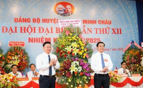 Đại hội Đảng bộ huyện Dương Minh Châu lần thứ XII, nhiệm kỳ 2020 - 2025 chính thức khai mạc