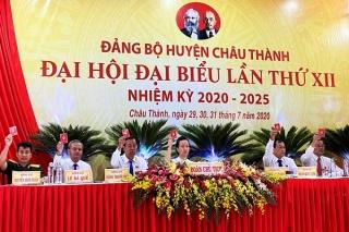 Khai mạc phiên trù bị Đại hội Đảng bộ huyện Châu Thành lần thứ XII, nhiệm kỳ 2020 - 2025