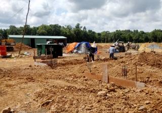 Đảm bảo tiến độ xây dựng công trình Cửa khẩu quốc tế Tân Nam