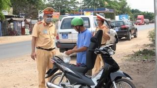 Tân Biên xử phạt gần 2 tỷ đồng vi phạm giao thông 6 tháng đầu năm