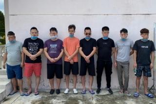 Bến Cầu : Cách ly 8 người Trung Quốc định xuất cảnh trái phép qua Campuchia