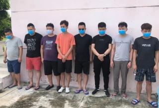 Bắt nhóm tài xế chở 8 người Trung Quốc đến Tây Ninh