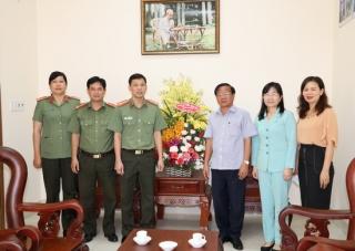 Công an tỉnh:  Chúc mừng ngày truyền thống ngành Tuyên giáo của Đảng