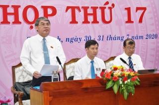 Bế mạc kỳ họp thứ 17 HĐND tỉnh: Miễn nhiệm và bầu bổ sung chức danh Uỷ viên UBND tỉnh