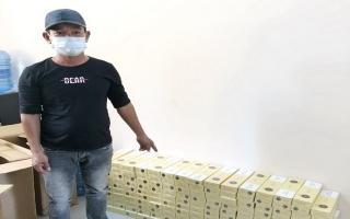 Công an thị xã Trảng Bàng: Bắt giữ đối tượng vận chuyển thuốc lá lậu