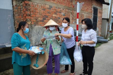 Hoà Thành: Ra quân tuyên truyền phòng chống dịch bệnh Covid – 19