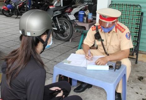 An toàn giao thông: Hơn 800 trường hợp vi phạm