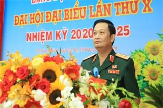 Trung tướng Trần Hoài Trung tái đắc cử Bí thư Đảng uỷ Quân khu 7