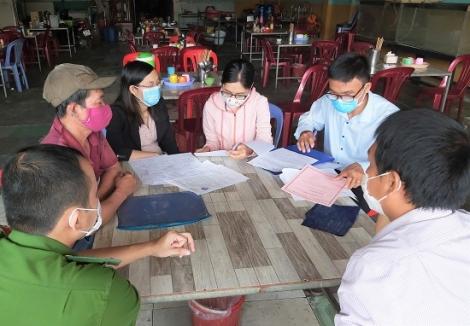 Tân Châu: Kiểm tra vệ sinh ATTP tại các điểm thi tốt nghiệp THPT 2020