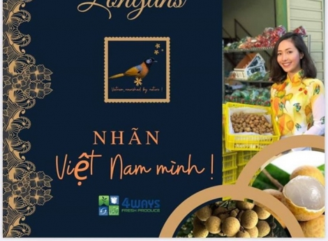 Nhãn tươi Việt Nam 'đổ bộ' thị trường Australia