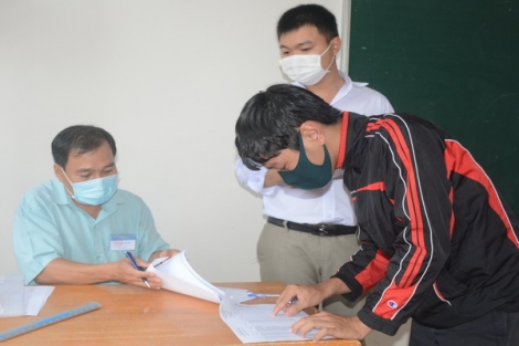 Tây Ninh: Hơn 8.500 thí sinh làm thủ tục dự  thi tốt nghiệp THPT 2020