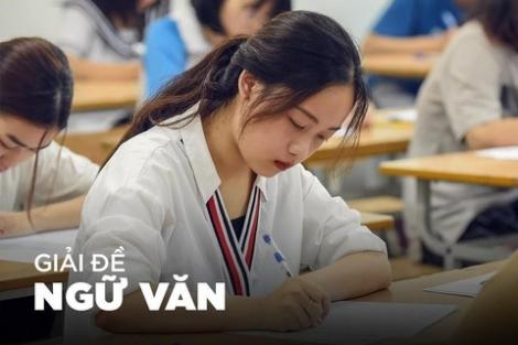 Bài giải đề thi tốt nghiệp THPT môn Ngữ văn
