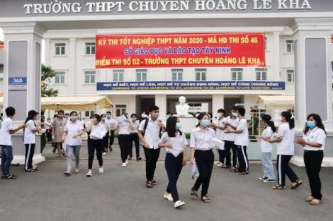 Buổi thi thứ hai: Tây Ninh có 22 thí sinh vắng thi môn Toán