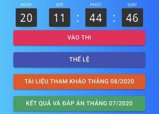 """Công bố đáp án tháng 7 và kết quả Cuộc thi tìm hiểu """"Đảng bộ tỉnh Tây Ninh qua Mười kỳ đại hội"""""""