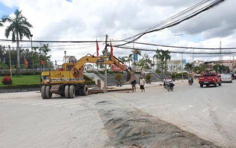Trảng Bàng: Khắc phục tình trạng ngập cục bộ khu vực trung tâm thị xã