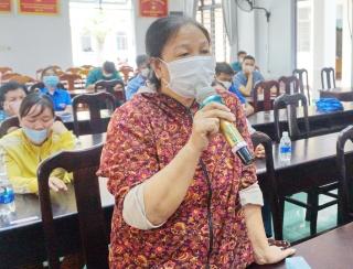 Đại biểu HĐND tỉnh tiếp xúc cử tri thị trấn huyện Dương Minh Châu