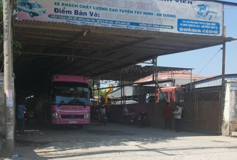 """Tây Ninh: Ngành vận tải """"gồng mình"""" trong dịch bệnh Covid-19"""