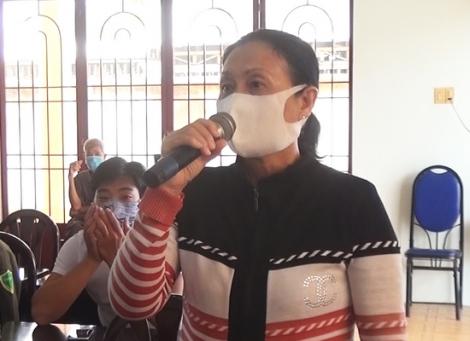 Phó Chủ tịch UBND tỉnh Trần Văn Chiến tiếp xúc cử tri Tân Biên