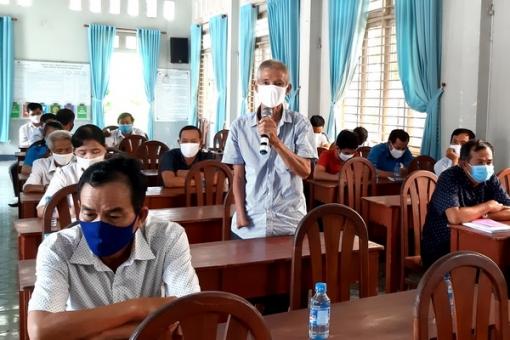 Đại biểu HĐND tỉnh, huyện tiếp xúc cử tri Bến Cầu, Dương Minh Châu