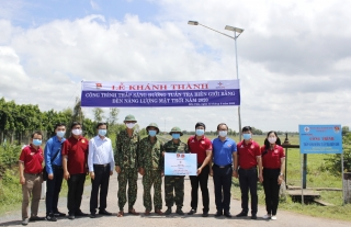 """Cụm sản xuất thuộc Thành đoàn TP.HCM tổ chức """"Kỳ nghỉ hồng"""" tại Bến Cầu"""