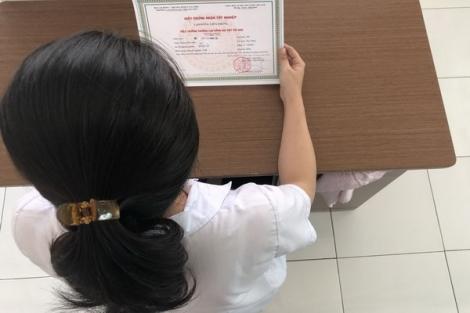 Sinh viên Trường Tân Bách Khoa đã được cấp giấy chứng nhận tốt nghiệp
