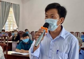 Đại biểu HĐND 2 cấp tiếp xúc cử tri Châu Thành, Gò Dầu, Tân Châu
