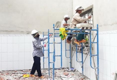 TP. Tây Ninh: Chuẩn bị cơ sở vật chất cho năm học mới