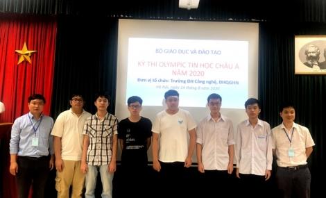 6 thí sinh Việt Nam giành huy chương Olympic Tin học châu Á
