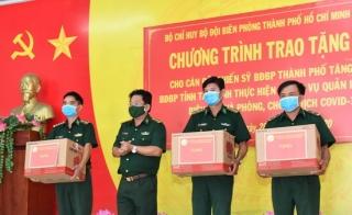 Biên phòng TP.Hồ Chí Minh thăm cán bộ, chiến sĩ tăng cường lên biên giới Tây Ninh