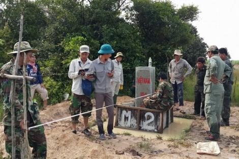 Tây Ninh: Hoàn thành 102/109 cột mốc chính dọc biên giới