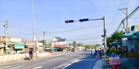 Hệ thống đèn tín hiệu bị lỗi, gây khó cho người tham gia giao thông