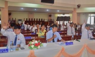 HĐND thị xã Hòa Thành tổ chức kỳ họp thứ 17 thông qua nhiều Nghị quyết quan trọng