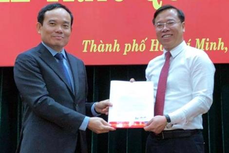 Thư ký Bí thư Thành ủy làm Chánh văn phòng Thành ủy TP HCM