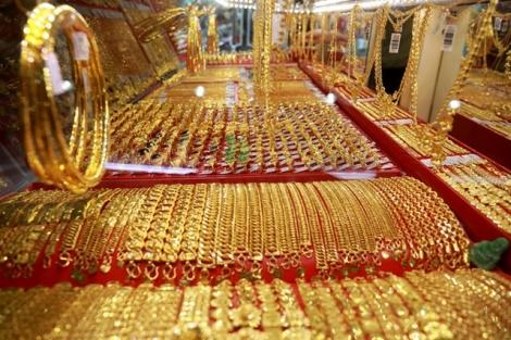 Giá vàng trong nước giảm 250.000 đồng/lượng