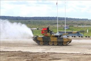 Đoàn Việt Nam tiếp tục đạt thành tích cao tại Army Games 2020