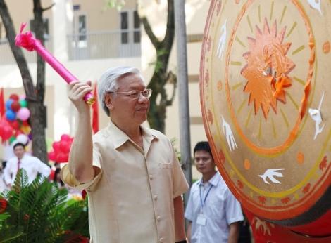 Tổng Bí thư, Chủ tịch nước Nguyễn Phú Trọng gửi thư cho ngành Giáo dục nhân dịp khai giảng năm học mới 2020-2021