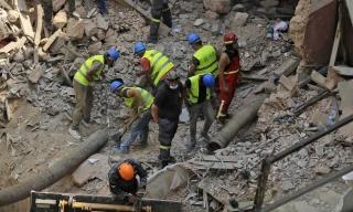 Cạn hy vọng tìm người sống trong vụ nổ Beirut