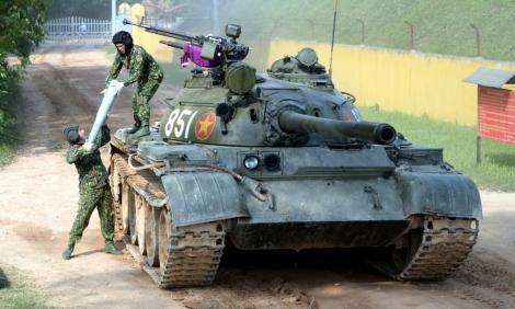 Những khó khăn đội Việt Nam vượt qua để vô địch Tank Biathlon