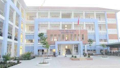 Trường THCS Nguyễn Trãi dời về phường Hiệp Ninh